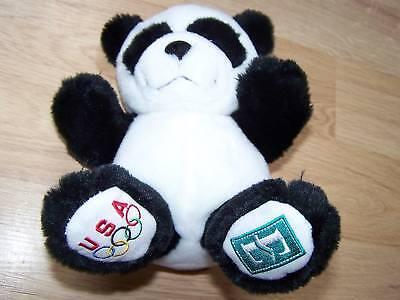 9  Olympic Panda Build A Bear Babw Embassy Suites Usa Plush Animal Euc