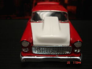 Revell 1/25 55 Chevy Bel Air Resin Big Cowl Hood