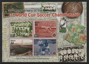 Nevis-2005-Anniv-of-1st-World-Cup-SG1896-99-MNH