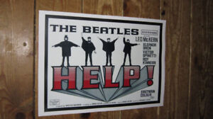 The-Beatles-HELP-Film-Repro-Advertising-POSTER