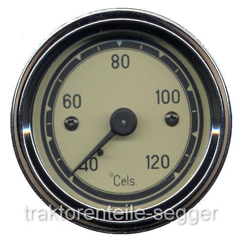 Temperaturanzeige Fernthermometer mechanisch Traktor  Schlepper 216 Foto 1