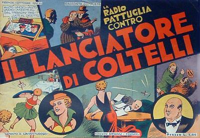LA RADIO PATTUGLIA CONTRO IL LANCIATORE DI COLTELLI
