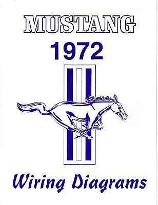 1972 Mustang Wiring Diagram Manual