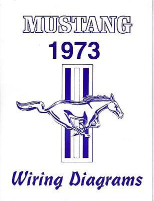 1973 Mustang Wiring Diagram Manual