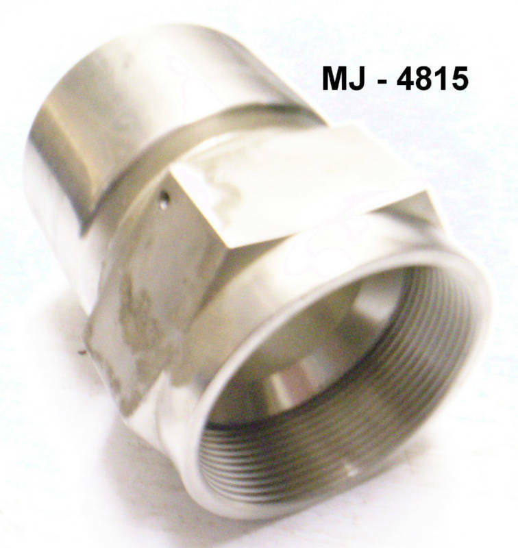 Parker - Stainless Steel Tube To Hose Straight Adapter