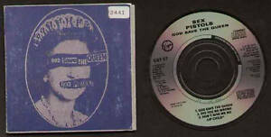MINI-CD-3-034-SEX-PISTOLS-GOD-SAVE-THE-QUEEN-DID-YOU-NO-WRONG-DON-039-T-GIVE-ME