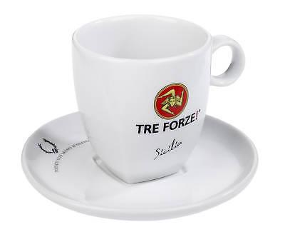 Tre Forze! Caffe Latte Tasse mit Unterteller - Caffe Milano online kaufen