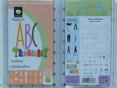 Cricut cartridge provo craft alphabet font new ebay for Cricut crafts to sell