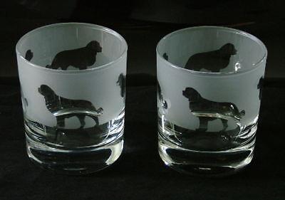 Bernese mountain dog gift Whisky Glasses