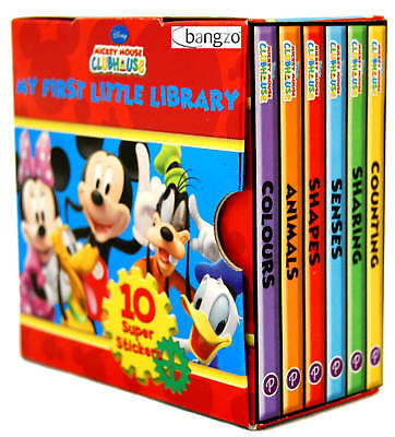 Disney Mickey Mouse Clubhouse Little Library Books