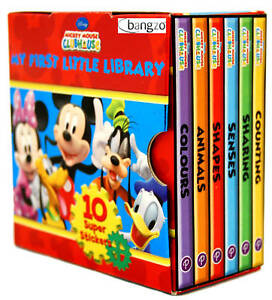 Disney-Mickey-Mouse-Clubhouse-Little-Library-Books