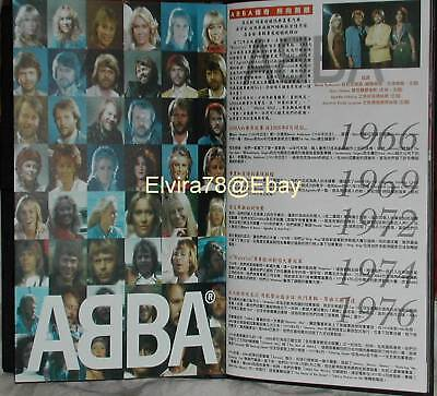 ABBA Definitive Collection Taiwan only 37-Track Promo 22-Page Book 2 CD Box