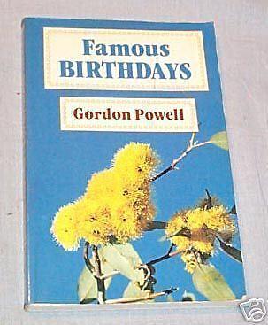 Qq  Book   Famous Birthdays