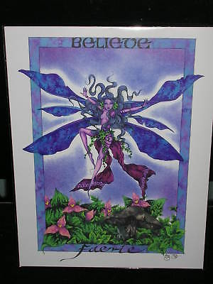 Amy Brown - Believe Faerie - RARE - OUT OF PRINT