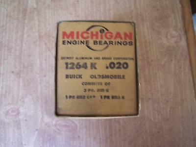 1964-65 Buick 300 V-8 .020 main bearing set