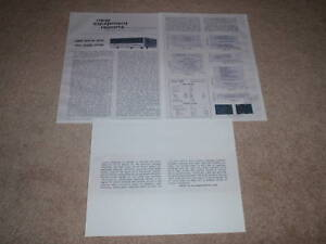 Sansui 4000 Receiver Review, 3 pgs, Full Test, 1969