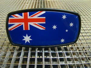 AUSTRALIA-FLAG-Trailer-Hitch-Cover-Mirror-Style