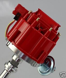 SBC-BBC-CHEVY-350-383-400-454-496-50K-RED-HEI-DISTRIBUTOR-PE-322-R