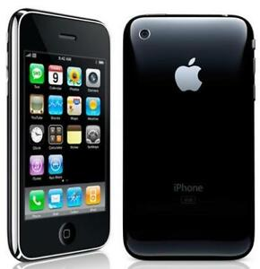 APPLE IPHONE 3G 8GB BLACK FACTORY UNLOCKED + FREE GIFTS + FREE SHIPPING