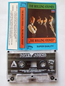 VERY RARE POLISH CASSETTE THE ROLLING STONES MC Poland - Europe, Polska - VERY RARE POLISH CASSETTE THE ROLLING STONES MC Poland - Europe, Polska