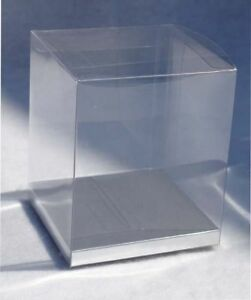 24-PCS-4x4x4-1-2-Favor-Tuck-Top-Clear-Boxes-W-Silver