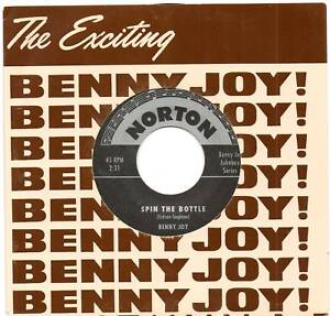 BENNY-JOY-SPIN-THE-BOTTLE-WILD-WILD-LOVER-NORTON-ROCKABILLY-RE-ISSUE