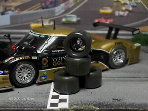 1-32-URETHANE-SLOT-CAR-TIRES-2pr-PGT-20125LM-RACER-Riley
