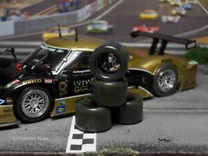 """XPG"" URETHANE SLOT CAR TIRES 2pr PGT-20125LM fit RACER Riley & Dallara Daytona"
