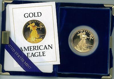 Click now to see the BUY IT NOW Price! 9 1986 W AMERICAN EAGLE GOLD PROOF $50 10 COINS REDUCED!
