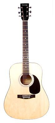 """41"""" Natural Full Scale HUNTINGTON Dreadnaught Acoustic Guitar Great Gift Idea  on Rummage"""