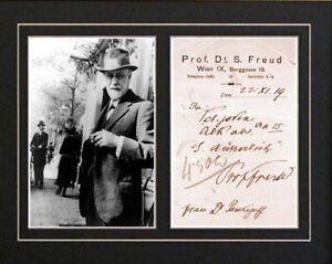 SIGMUND-FREUD-Signed-Signature-Autograph-Perscription