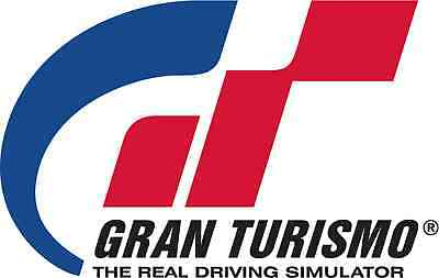 Gran Turismo Gt1 Gt Vinyl Sticker Decal 18 Full Color