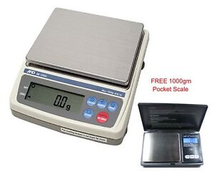 NTEP-approved-Scale-Legal-for-trade-A-amp-D-Ek-1200i-Free-1000g-Scale-buy-gold