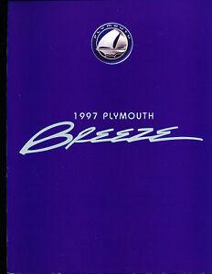 1997-Plymouth-Breeze-Original-Brochure-Catalog