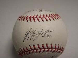 2009-VERMONT-LAKE-MONSTERS-TEAM-SIGNED-BASEBALL-AUTOGRAPH-AUTO-11-PLAYERS
