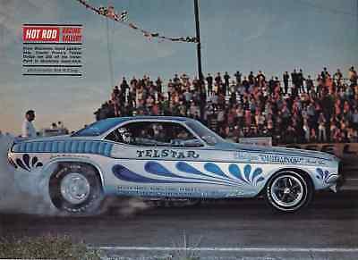 1970 DODGE CHALLENGER / CHARLIE PROITE ~ ORIGINAL MAGAZINE PHOTO / PICTURE / AD