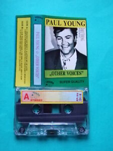 RARE POLISH CASSETTE PAUL YOUNG OTHER VOICES Poland - Europe, Polska - RARE POLISH CASSETTE PAUL YOUNG OTHER VOICES Poland - Europe, Polska