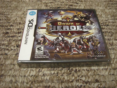 Dawn Of Heroes (nintendo Ds, 2010)