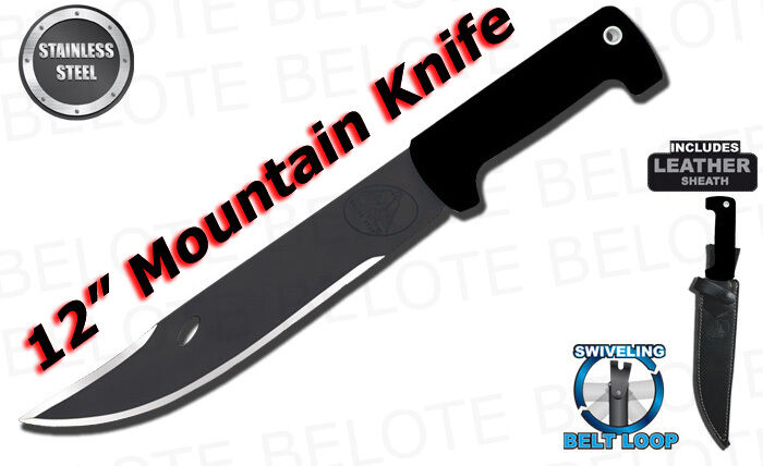 "Condor 12"" Mountain Knife UltraBlac2 w/ на eBay"
