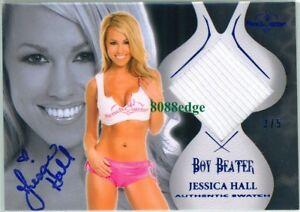 2010-BENCHWARMER-BOY-BEATER-BLUE-AUTO-JESSICA-HALL-3-5-AUTOGRAPH-SWATCH