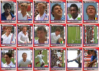 Escape to Victory movie trading cards Bobby Moore Pele