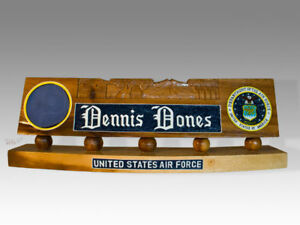 Military Desk Name Stand eBay