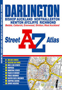 Darlington Street Atlas by Geographers' A-Z Map Company (Paperback, 2010)