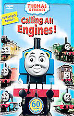 Thomas  Friends - Calling All Engines (DVD, 2005) Brand New