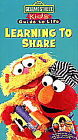 Sesame Street - Kids' Guide to Life: Learning to Share (VHS, 1996)