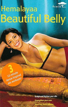 Hemalayaa-BEAUTIFUL BELLY Dance Fitness ABs Workout DVD