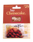 $25 The Cheesecake Factory Gift Card