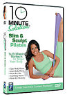 10 Minute Solution - Slim And Sculpt Pilates (DVD, 2009)