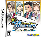Phoenix Wright: Ace Attorney Justice for All Video Games