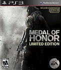 Medal of Honor (Limited Edition)  (Playstation 3, 2010)